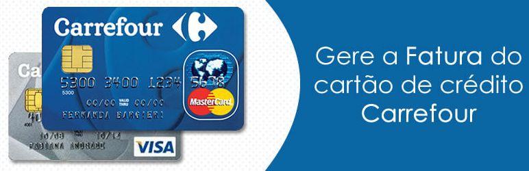 Consultar Cartão de Crédito Carrefour pela Internet