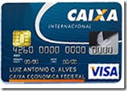 Solicitar Cartões de Crédito Internacional da CAIXA